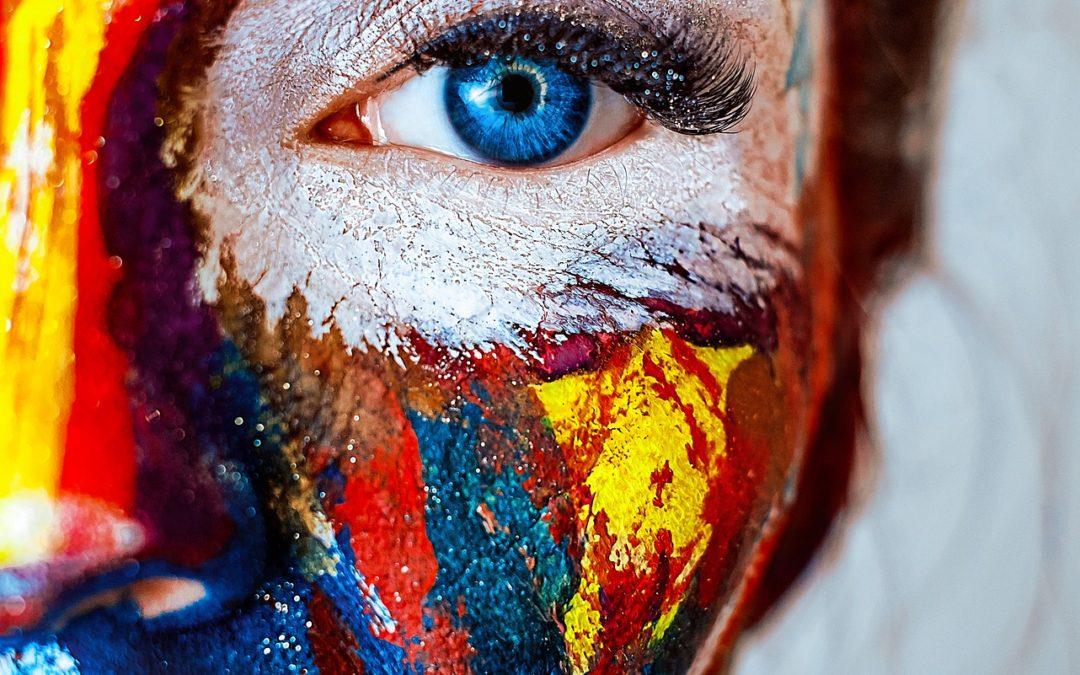 visage emotions couleurs peinture anne fraisse